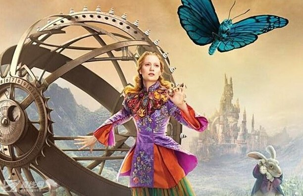 《爱丽丝梦游仙境2》首曝片段 德普变童颜