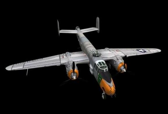 老式战斗机模型