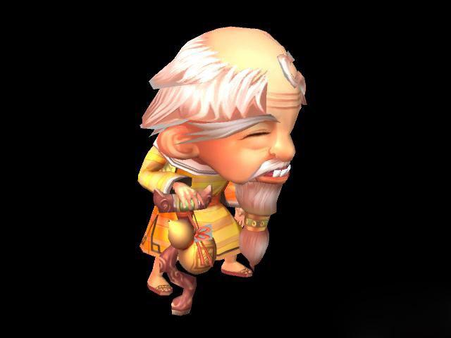 c4d1000种材质 魔兽世界10位主角精品模型打包下载