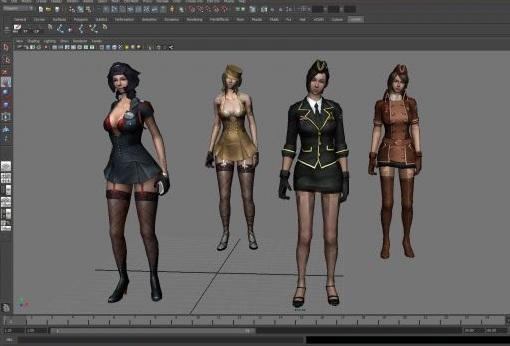 生化危机6女角色模型sherry下载页面 高清图片