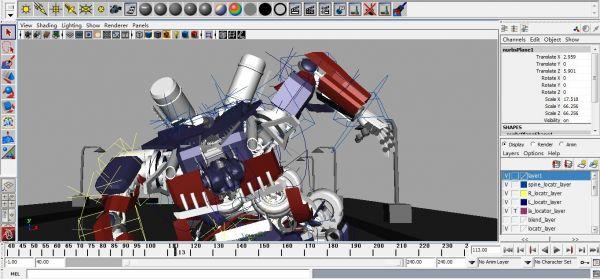 擎天柱3d模型 - 下载页面