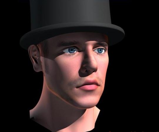 人头表情3d模型 - 下载页面