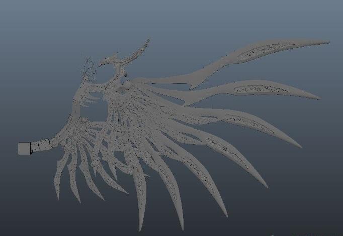 变形金刚2迅雷_带翅膀怪兽模型下载!有骨骼,绑定下载页面 - 直线网 - 最专业 ...
