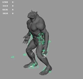 马走路动画3d模型 - 下载页面