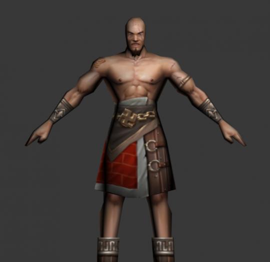 游戏人物模型