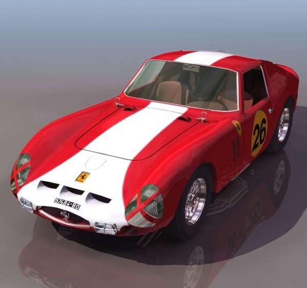 法拉利恩佐3d模型 - 下载页面