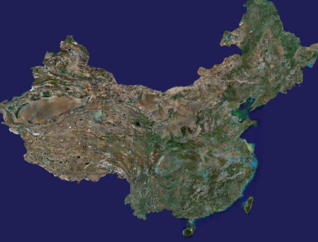 中国地图3d模型_下载页面_直线网_最专业的数字艺术