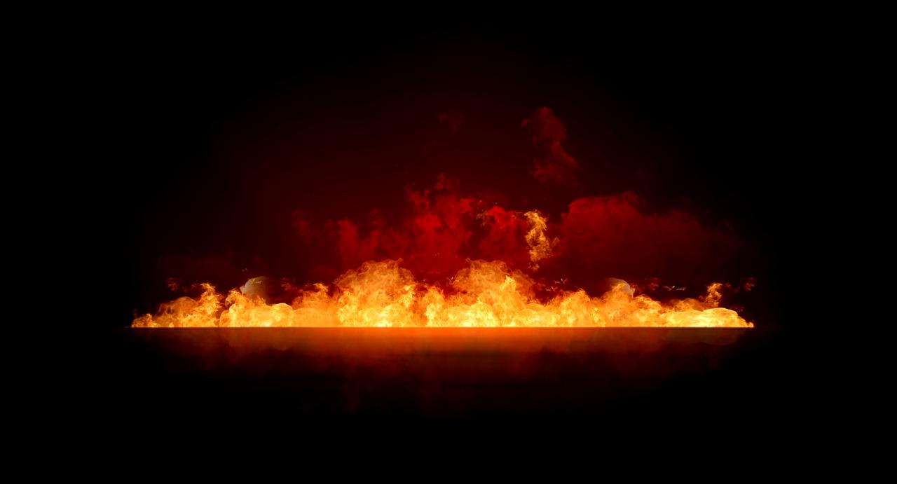 太阳火焰矢量图