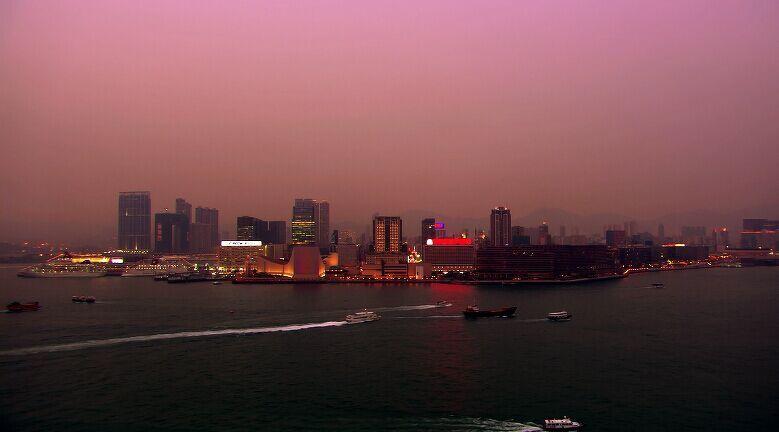 航拍鸟瞰城市夜景高清实拍视频素材
