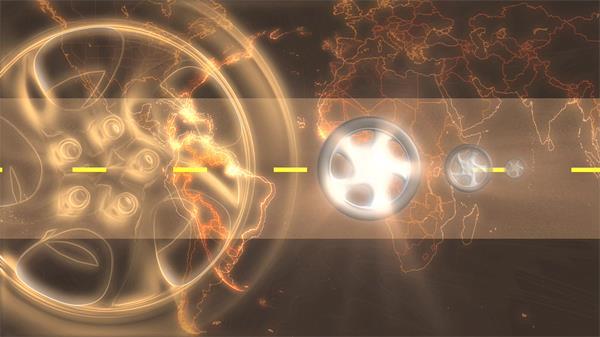 粒子光圈高清背景视频素材下载页面