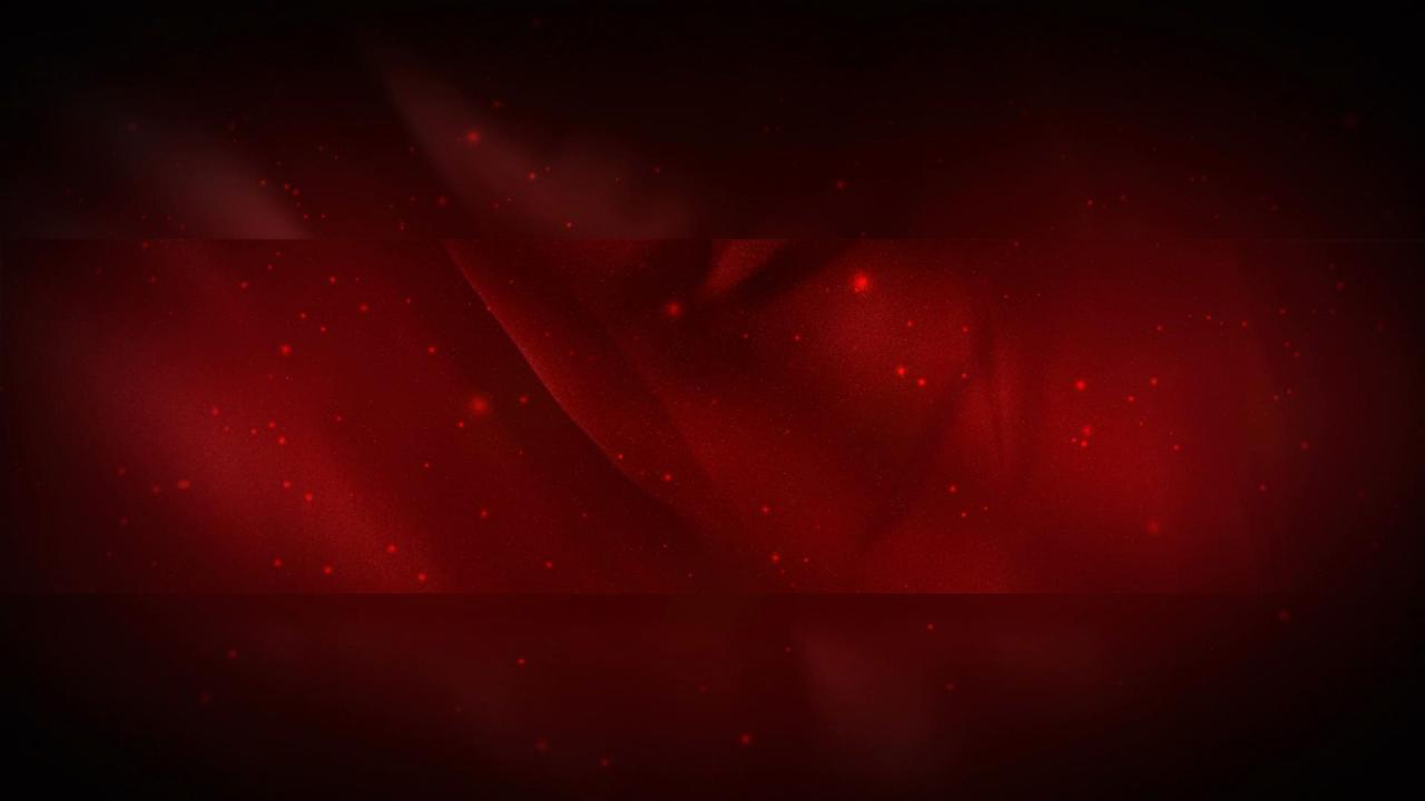 大气红色布飘动高清背景视频素材