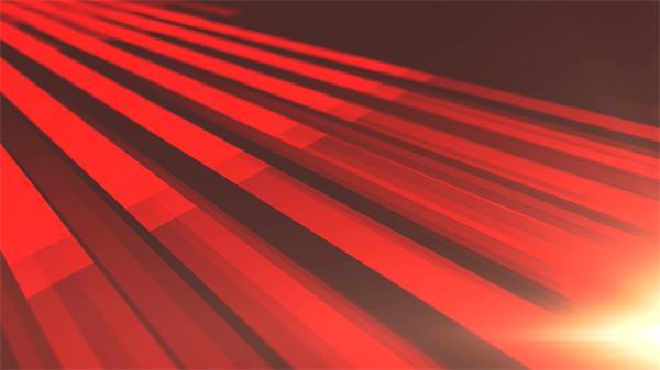 别致红色条纹运动背景动画炫光渲染背景视频素材