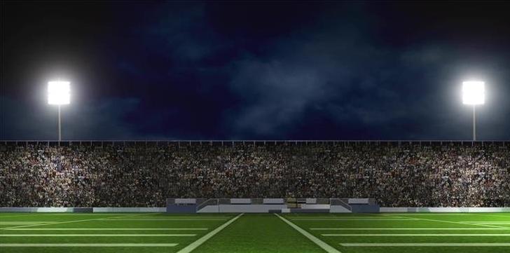 三维立体世界杯足球场led动态背景视频素材
