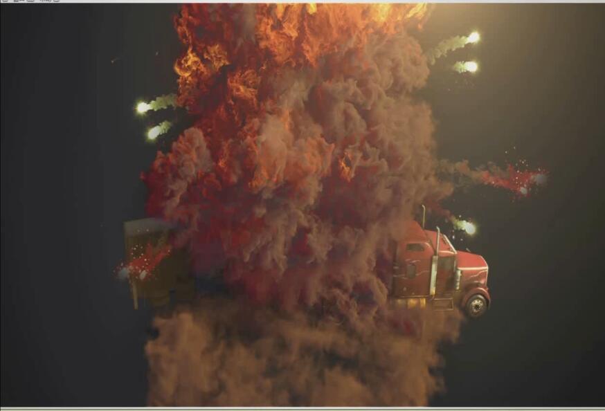 电影特效 汽车爆炸的制作_ae教程_直线网_最专业的