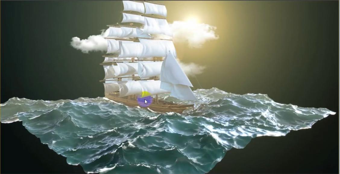 海洋灯具设计图片