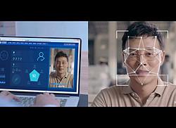 面部識別科技感特效