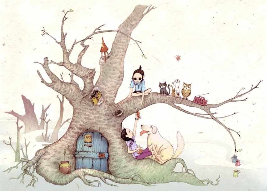 转载:黑石滚沟的小动物之家