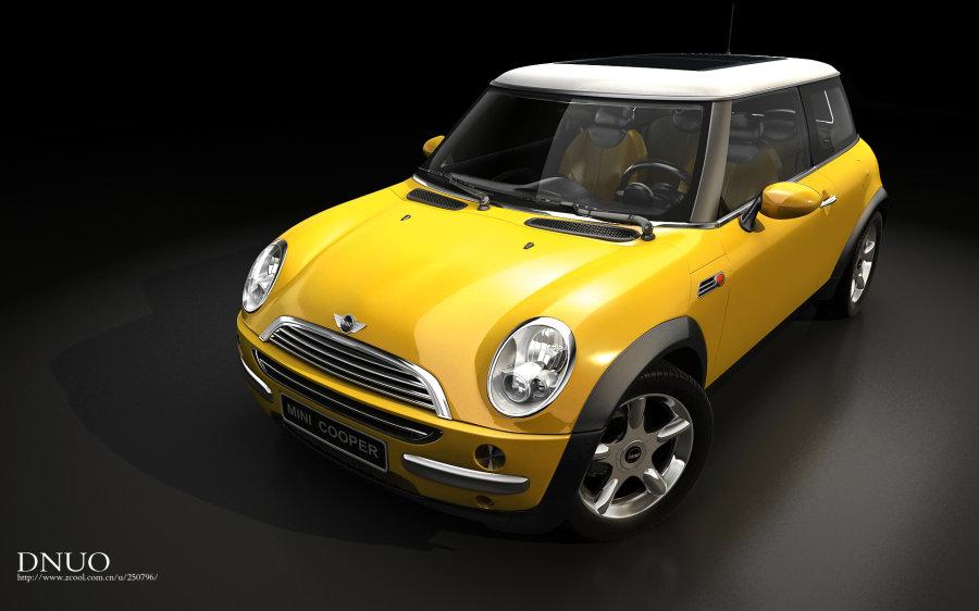 【原创】 【转载:第一次做车 mini cooper [带内饰]】图片