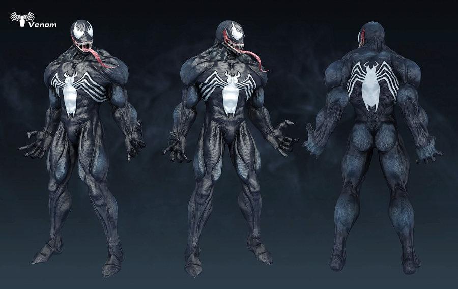 倾城:美国毒液作品-漫画-Venom_转载恋怪物先生漫画全集英雄图片