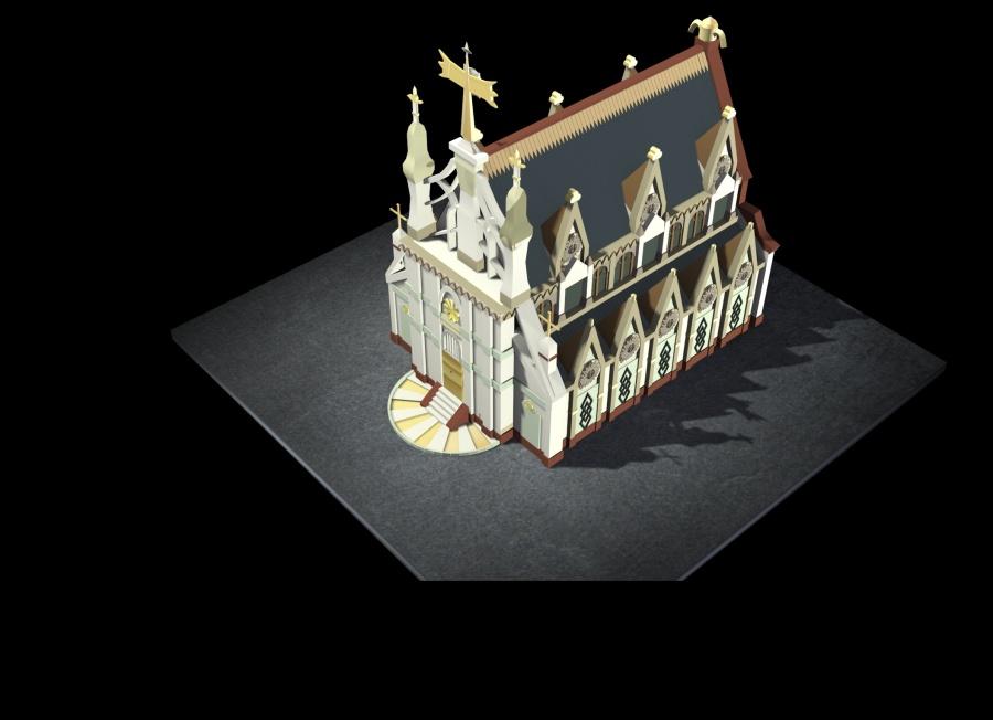 【转载作品】 【3dmax房子建模】