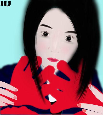 【原创】 【转载:人物画 手绘 矢量图 卡通 手机矢量图 卡通版 q版】
