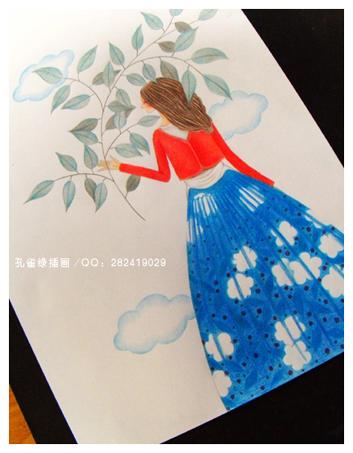 【原创】 【转载:我的彩色铅笔画】