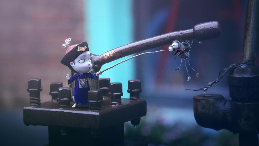 僵小鱼之小僵尸与啰嗦机器人咔叽蟆