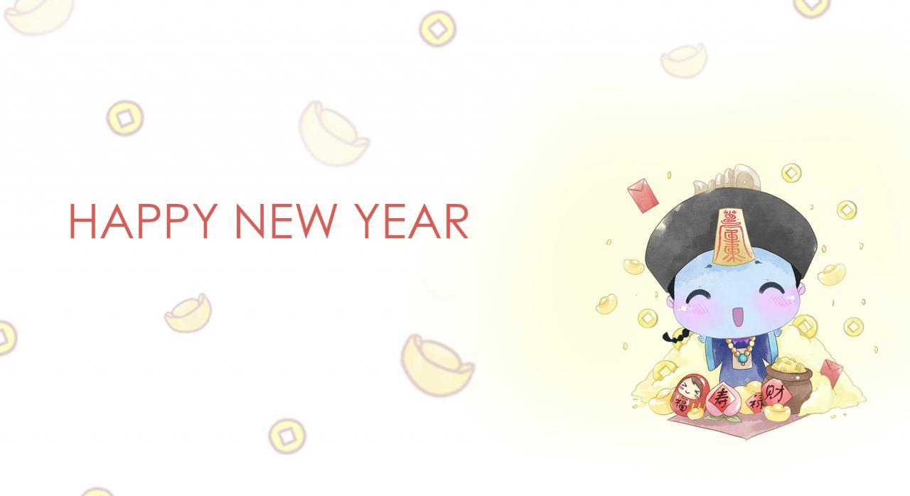 僵小鱼之新年快乐~小僵尸闹年啦~