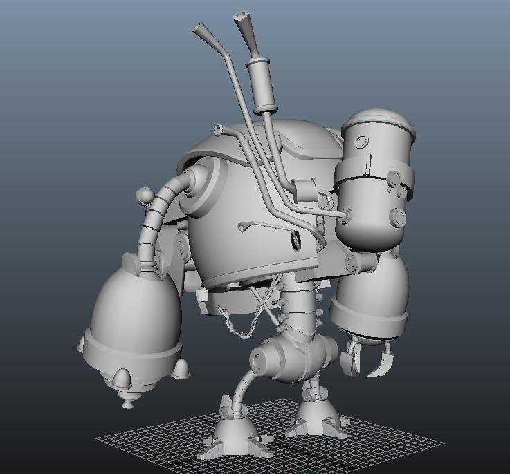 临摹机器人2