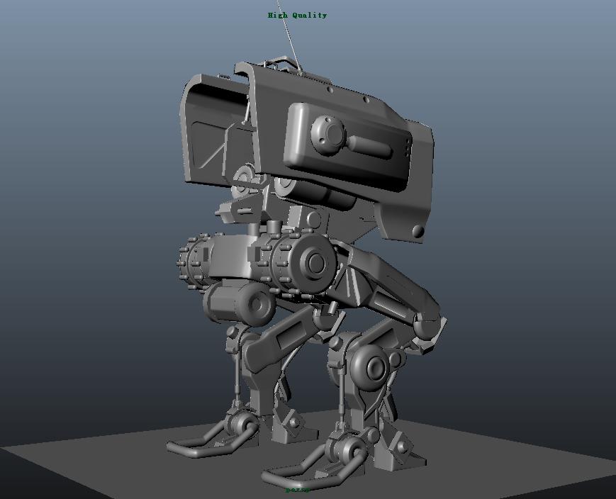 临摹机器人3